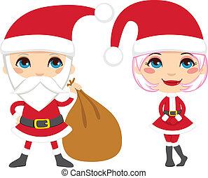 Santa Claus Couple