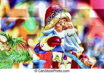 Santa Claus decoration for Christmas