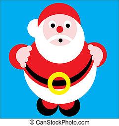 Santa Claus - christmas. Santa Claus Vector Illustration...