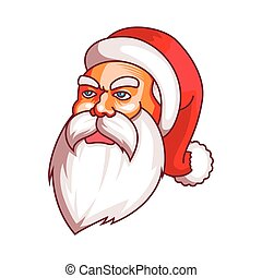 Santa claus emotions. Grudge, unhappiness, resentment. Part...