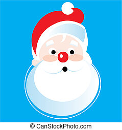 Santa Claus Vector Illustration cartoon