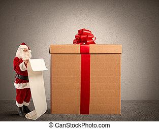 santa claus geschenken, liste