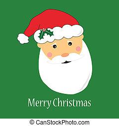 Santa Claus Greeting Card