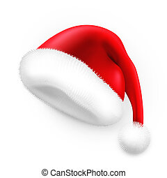santa claus hat clipart vector graphics 27 190 santa claus hat eps rh canstockphoto com Santa Claus Clip Art free clipart of a santa claus hat