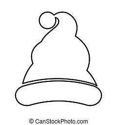 santa claus hat icon