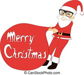 Santa Claus Heavy Sack
