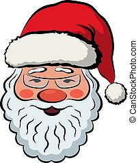 Santa Claus in Red Cap