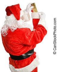 Santa Claus on the Job