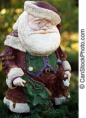 Santa claus ornament.