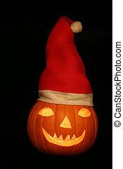 Santa Claus Pumpkin