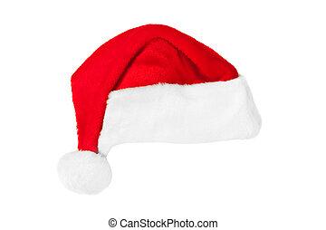 Santa Claus red christmas hat