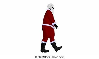 Santa Claus - Santa claus on a white background