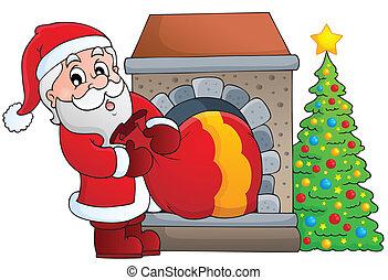Santa Claus theme image 7 - eps10 vector illustration.