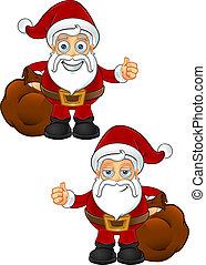 Santa Claus - Thumbs Up