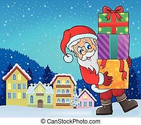 Santa Claus topic