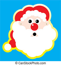 Santa Claus Vector Illustration cartoon