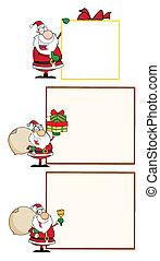 Santa Claus Waving A Greeting