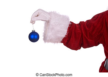 Santa Claus with ornament