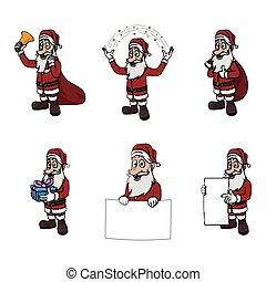 santa clause illustration design