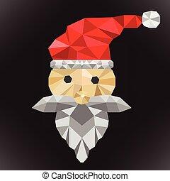 santa clause polygon