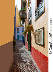 Santa Cruz de La Palma colonial house facades