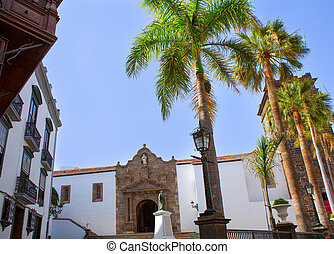 Santa Cruz de La Palma Plaza de Espana Iglesia Matriz de el...