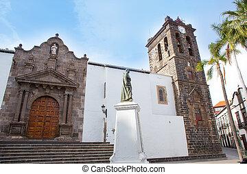 Santa Cruz de La Palma Plaza de Espana Iglesia
