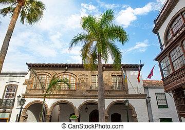 Santa Cruz de La Palma Plaza Espana town hall