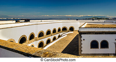 Santa Cruz Fortress - Fortified wall of a fortress, Santa...