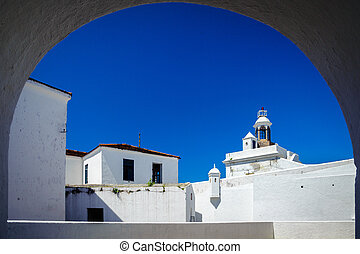 Santa Cruz Fortress - Fortress viewed through an arch, Santa...