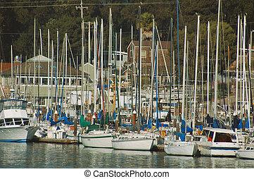 Santa Cruz Marina - Marina at Santa Cruz, California