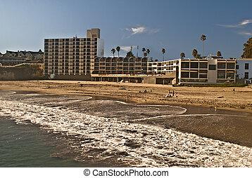 Santa Cruz resorts - View of Santa Cruz beach and resorts