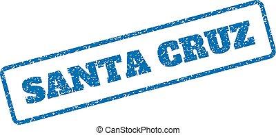 Santa Cruz Rubber Stamp