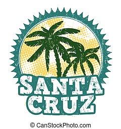 Santa Cruz stamp