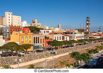 Santa Cruz. Tenerife, Canary Islands, Spain