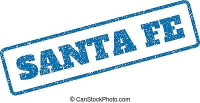 Santa Fe Rubber Stamp