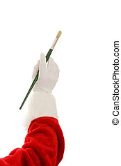 Santa Hand - Artist Brush