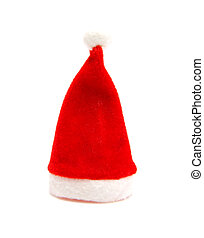 Santa hat for christmas - Santa hat for Christmas isolated ...