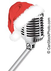 Santa Hat with Microphone