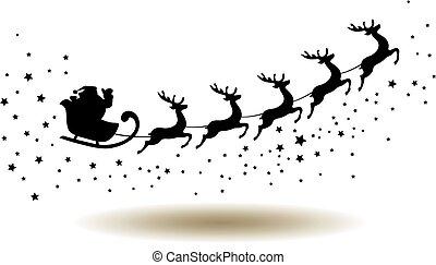 Santa - vector santa claus