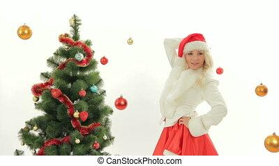 Santa in a skirt