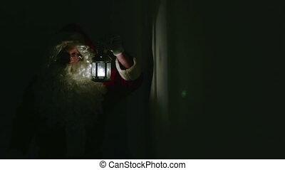 Santa In Dark