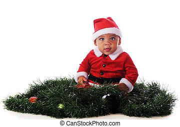 Santa in the Garland