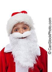 Santa is so happy
