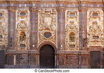 santa isabel church Zaragoza Spain outdoor facade - santa...