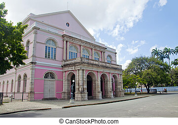Santa Isabel theater - Recife - Pernambuco - Brazil
