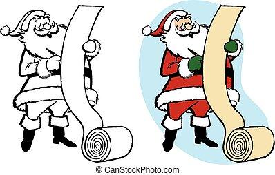 Santa Making List