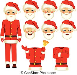 Santa Man Costume