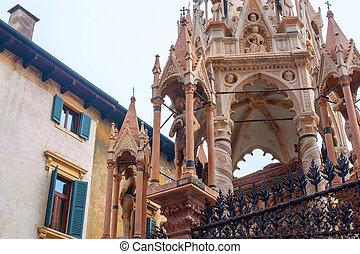 Santa Maria Antica, Via Arche Scaligere, Verona, Province of Verona, Italy
