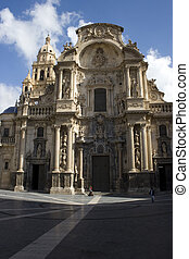 Santa Maria Cathedral of the Diocese of Cartagena in Murcia,...